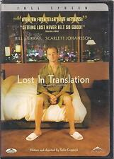 Lost In Translation (Dvd,2004,Canadian,Biling ual)