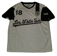 Los White Sox Chicago Soccer Style Jersey SGA 9/23/17 Size XL Shirt White - MLB