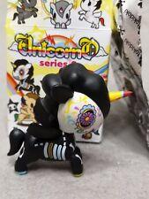 """RARE Tokidoki Unicorno Series 2 CHASER Caramelo 3"""" Vinyl Figure With Box & Foil"""