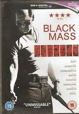 BLACK MASS - Johnny Depp, Benedict Cumberbatch, Kevin Bacon (DVD 2016)
