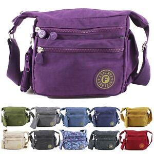 Women's Crossbody Messenger Bag Ladies Shoulder Over Bag Holiday Travel Handbag
