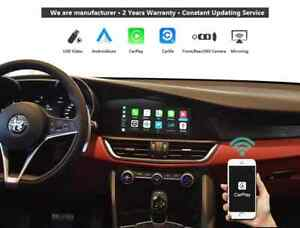 Alfa Romeo Giulia Apple Carplay Andriod Auto upgrade