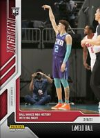 2021 Panini Instant LAMELO BALL RC #73 - Makes NBA History BIG NIGHT (PRE-SALE)