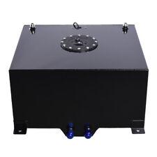 15 Gallon 60L Aluminum Race Drift Fuel Cell Tank Level Sender Foam Black