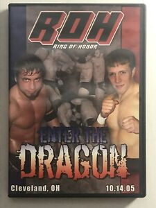 ROH Enter The Dragon DVD Ring of Honor Wrestling (10.14.05)