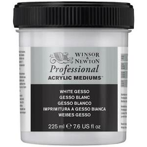 WINSOR & NEWTON Professional Acrylic Gesso - White - 450ml Tub