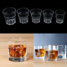 135ml - 300ml Plastic Tumblers Cups Picnic Water Glasses Unbreakable