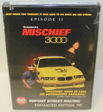TECKADEMICS MISCHIEF 3000 EPISODE II DVD IMPORT STREET RACING ENHANCED 90+ mins