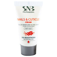 SNB Nails & Cuticle Cream 20ml with Shea Butter, Argan Oil, Sea Buckthorn Oil