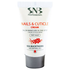 Snb Nails & Cuticle Cream 20ml with Shea Butter, Argan Oil, Sea Buckthorn Oil