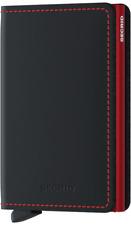 Secrid - Slimwallet Matte - schwarz/rot - NEU & OVP ( C-Black )