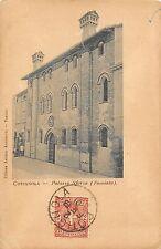 5312) COTIGNOLA (RAVENNA) PALAZZO SFORZA (FACCIATA). VIAGGIATA IL 2/2/01