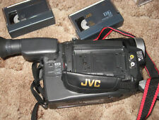 JVC COMPACT CAMCORDER MODEL # GR-AXM225 -WITH CASE & ACCESSORIES