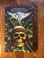 THE BLACK EAGLES #17 : MAU LEN DEATH ZONE  by John Lansing 1988 ZEBRA paperback