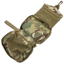 BCB MULTICAM TOILETRY / MEDICS POUCH – british army mtp camo hanging wash bag