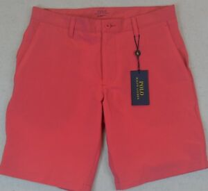 Polo Ralph Lauren All Day Beach Shorts Quick Dry Tropical Pink Size 40 NWT