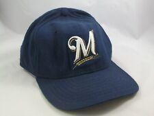 Milwaukee Brewers Hat New Era Blue Snapback MLB Baseball Cap Made USA