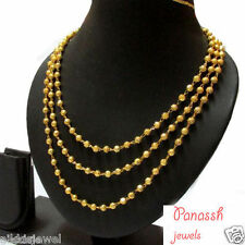 South Indian Traditional Jewellery 3 line chain necklace lowest price