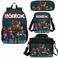 Game Roblox Backpack/ Insulated Lunch Bag/ Crossbody Bag/ Pen Bag/ Kids Set Lot