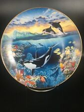Orca Ballet From Symphony Of The Sea - Hamilton Collector Plate ~