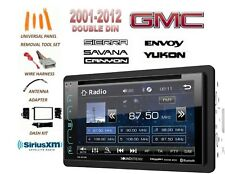 2001-2012 GMC SIERRA SAVANA YUKON BLUETOOTH SIRIUS XM READY STEREO KIT LCD DVD