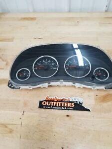 Jeep JK Wrangler Speedometer Gauge Cluster 58k 100 MPH Farenheit 2013 33785