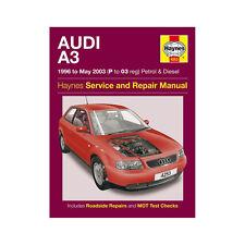 [4253] Audi A3 1.6 1.8 Petrol 1.9 Diesel 96-03 (P to 03 Reg) Haynes Workshop Man