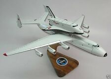 AN-225 Antonov Piggyback Space Shuttle Buran Airplane Wood Model Big New