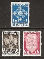 ROMANIA # B63-5 Mint BOY SCOUT JAMBOREE