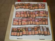 25 MOUNTAINS MTG Basic Land Deckbuilding Pack Magic the Gathering