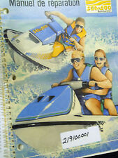 Seadoo 1989 Shop Manual in French Part Number 219100001