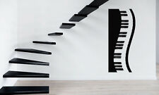 Piano Keys Sound Music Band Positive Mural  Wall Art Decor Vinyl Sticker z666