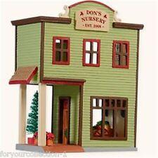 Hallmark 2008 Don's Nursery #25 Nostalgic Houses & Shop