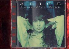 ALICE-IL VENTO CALDO DELL'ESTATE timbro siae a secco CD NUOVO SIGILLATO