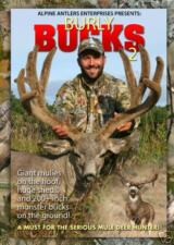 NEW BURLY BUCKS #2 DVD mule deer hunting video antlers
