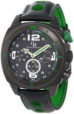 Giulio Romano Men's GR-2000-13-006 Pescara Black IP Case Dual Time Watch