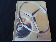 1996 Mercedes SL Press Kit SL320 SL500 SL600 Face Lift & Safety Media Brochure