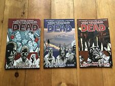 The Walking Dead Volumes 1, 3 and 17 Paperback Graphic Novel LOT
