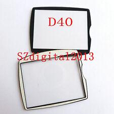 Window Display (Acrylic) Outer Glass For NIKON D40 Digital Camera Repair +Glue