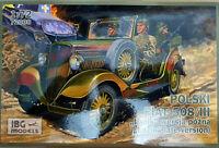 Polski Fiat 508/III Lazik Late Version WWII - IBG  Models Kits 1:72 72008