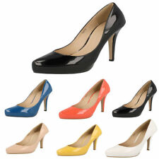 Stiletto Standard Width (D) Synthetic Upper Heels for Women