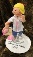 Annalee 1993 Logo Kid - Boy w/ Ice Cream Cone Anniversary Edition - w/ tag & Bag