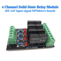 Solid-state Relay Module 4 Control Panels Drive Plate Modules Omron NPN 24V