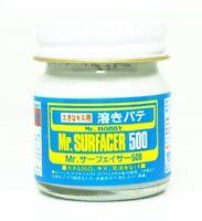 Mr. Surfacer 500 Flacone 40 ml. Stucco / Primer Liquido Per Modelli in Plastica