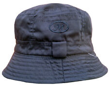 Mens Unisex  Festival Bucket Travel Fishing Jungle Boonie Sun Hat Navy Blue New