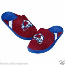 NHL Colorado Avalanche Team Jersey Indoor/Outdoor Slippers ~ Size XL (13-14)