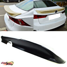PAINTED FOR LEXUS IS250 IS350 IS F Sport TRD Trunk Spoiler 13-16