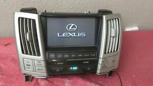 2004-2006 Lexus RX330 Navigation Screen Info Display Climate Panel 86110-48110