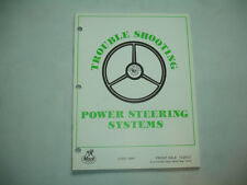 Mack Power Steering Systems Troubleshooting Service Shop Manual Factory Oem