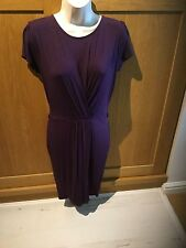 Ladies Purple Warehouse Definitives Stretchy Dress Size 10